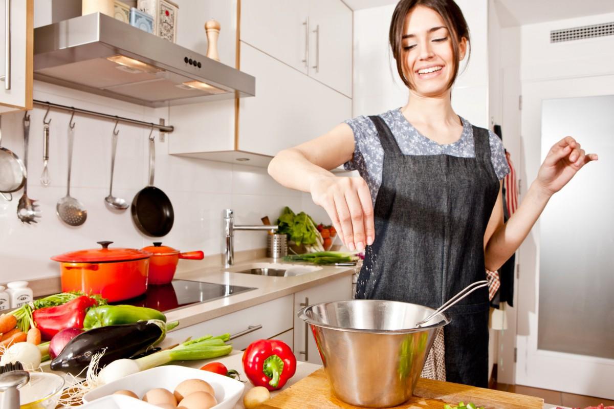 Картинка готовлю еду