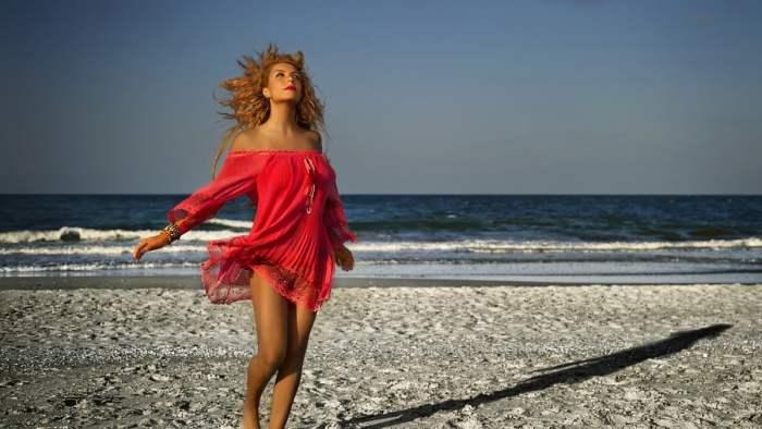платье пляж5