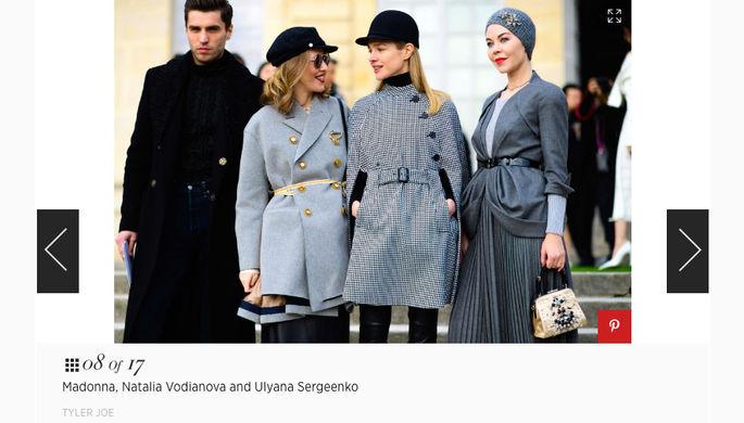 Журнал Harper's Bazaar перепутал Ксению Собчак с эстрадной певицей Мадонной