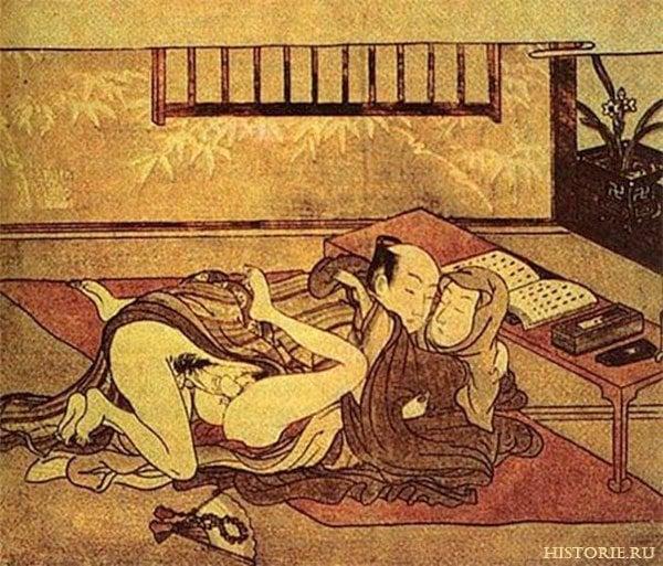 Секс древности