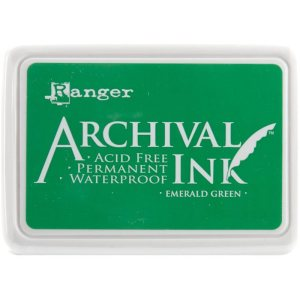 Archival Ink Pad No.0 – Emerald Green