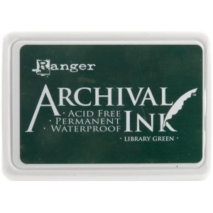 Archival Ink Pad No.0 – Library Green