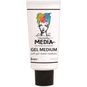 Dina Wakley Gel Medium 2oz Tube – Matte Finish