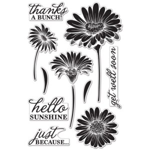 Hero Arts Clear Stamps 4″X6″ Sheet – Hello Sunshine Daisies