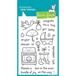 Lawn Fawn Clear Stamps 4″X6″ – Plus One