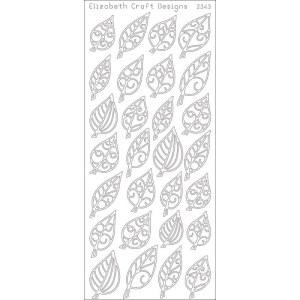 Leaves Small Peel-Off Stickers – Gold