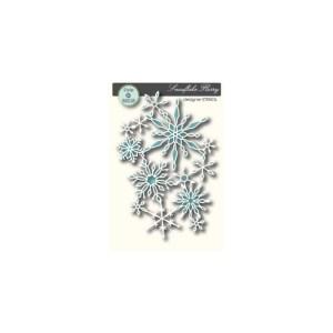Memory Box Stencil – Snowflake Flurry