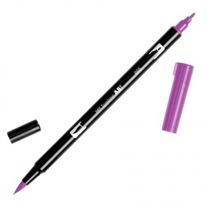 Tombow Dual Brush Marker – 665 Purple