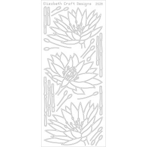 Waterlilies Peel-Off Stickers – Sliver