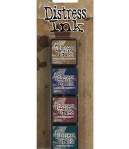 Tim Holtz Mini Distress Ink Kit 12