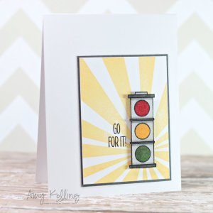 Neat & Tangled Clear Stamp – Stop and Go