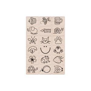 Hero Arts Ink 'n' Stamp Set, Fun Stuff