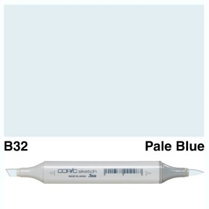 Copic Sketch B32-Pale Blue