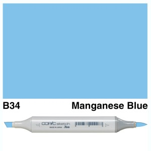 Copic Sketch B34-Manganese Blue