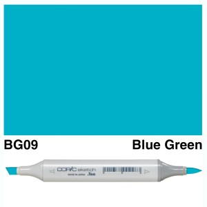 Copic Sketch BG09-Blue Green