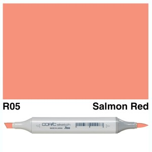 Copic Sketch R05-Salmon Red