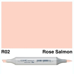 Copic Sketch R02-Rose Salmon
