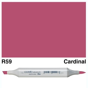 Copic Marker Sketch R59 Cardinal