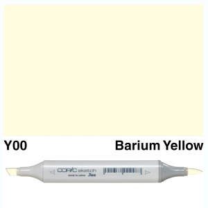 Copic Sketch Y00-Barium Yellow