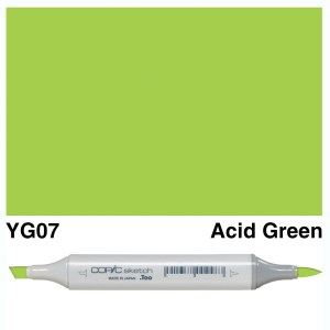 Copic Sketch YG07-Acid Green