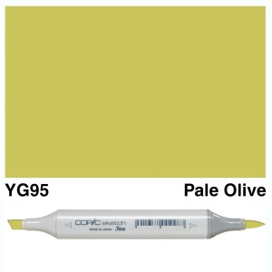 Copic Sketch YG95-Pale Olive