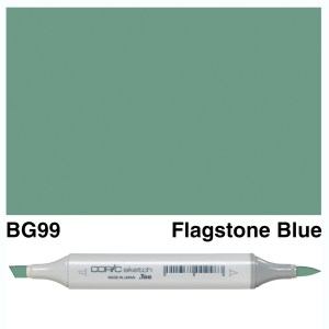 Copic Sketch BG99-Flagstone Blue