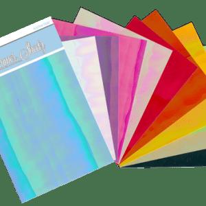 Elizabeth Craft Designs Shimmer Sheetz Iris Sampler Pack – 10 Pack