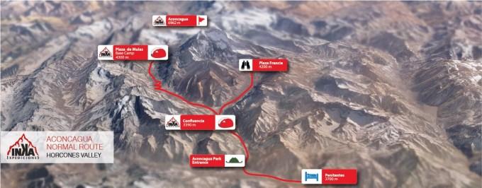 Aconcagua Normal Route Inka Expediciones