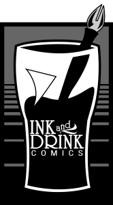 Ink and Drink Comics logo full