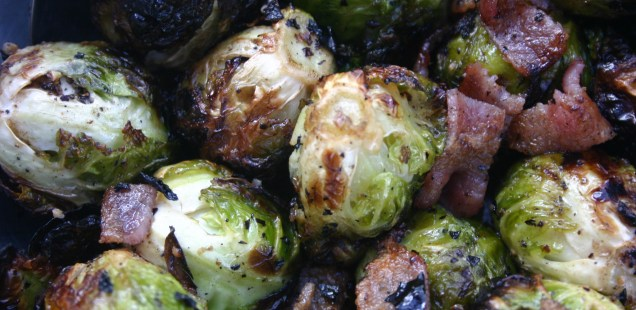 Grilled Brussels Sprouts