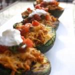 Turkey Stuffed Avocado Taco Boats