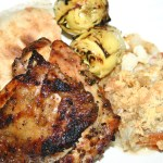 Triple Lemon Chicken Thighs with Artichoke Hearts