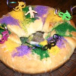 "King Cake On The Grill. ""Laissez les bons temps rouler!"""