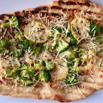 Meatless Monday With A Twist: Broccoli, Lemon And Gouda Pizza