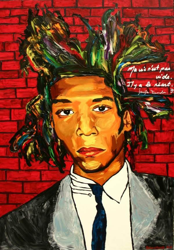 2013 Oct. 25 Black Lesbian French Artist Paints Mandela