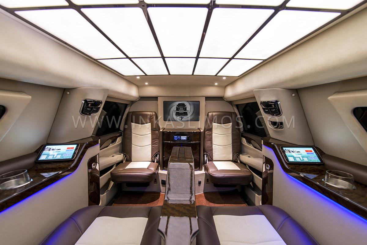 Cadillac Escalade VIP Limousine INKAS Professional