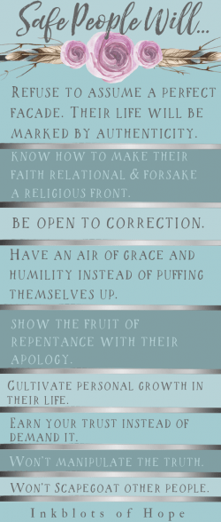 #SafePeople #CloudAndTownsend #HenryCloud #JohnTownsend #HealthChallenges #ChristianInspiration Safe People are good to have when you're going through health challenges. But what does it even mean to be safe? This list gives a brief glimpse (adapted from Cloud and Townsend's book, Safe People).