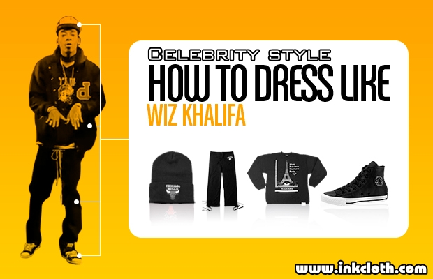 How to dress like Wiz Khalifa