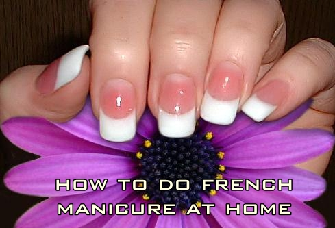 Learn how to do a French manicure at home