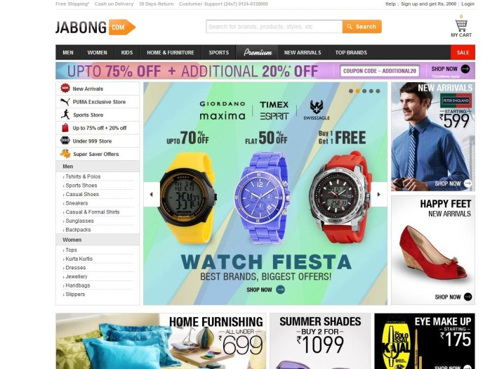 jabong-online-shopping-websites-in-india