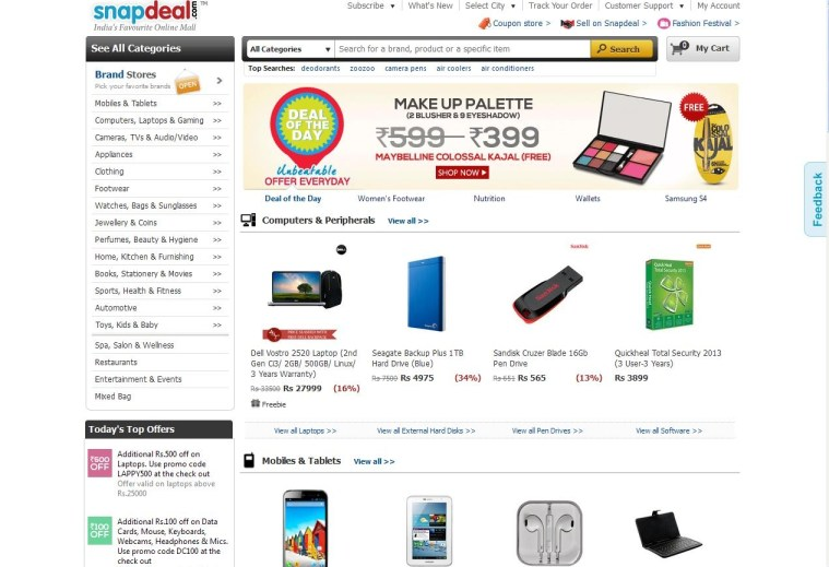 snapdeal-online-shopping-websites-in-india