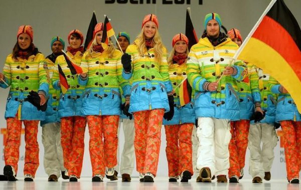 Germany's Shocker Uniforms for Sochi Olympics
