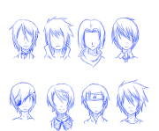 anime hairstyles 14 - inkcloth