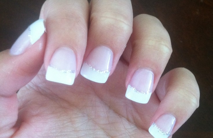French Nail Manicure