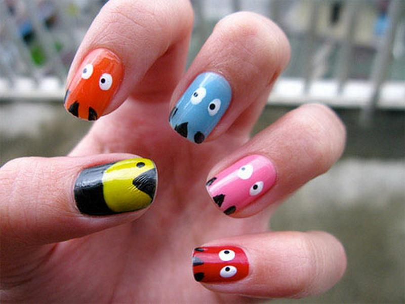 Contemporary Nail Painting Ideas Photo Ensign - Nail Art Ideas ...