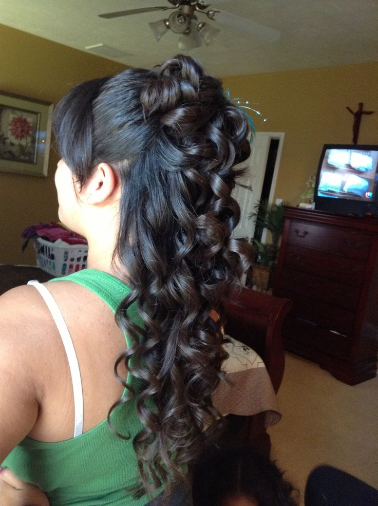 Quinceanera Hairstyles 3 Inkcloth