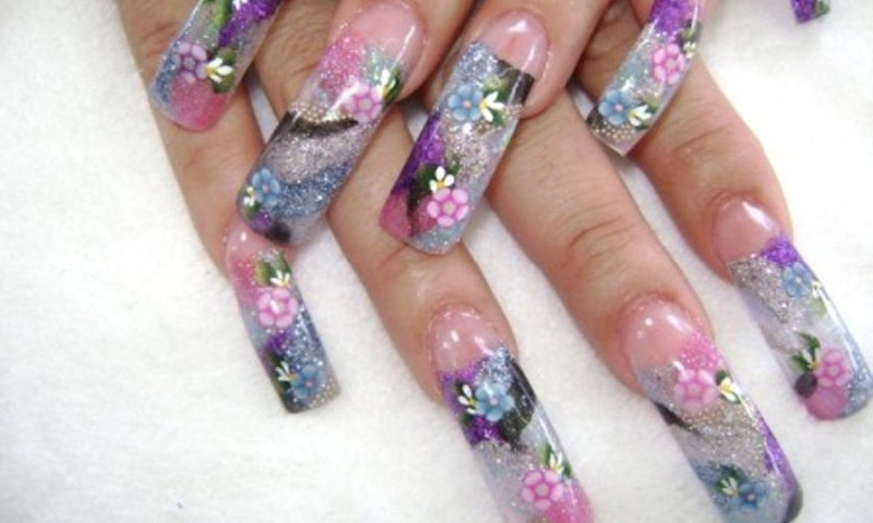Acrylic Nail Art Ideas