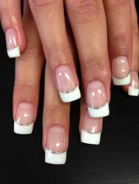 Medium French Tip Nail Designs | Joy Studio Design Gallery ...
