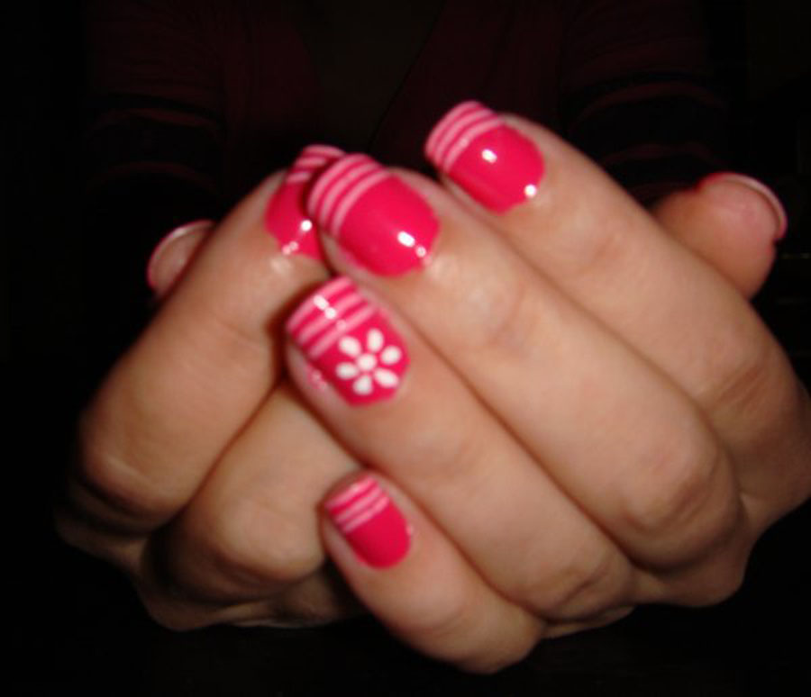 Freehand Nail Art Designs 13 Inkcloth