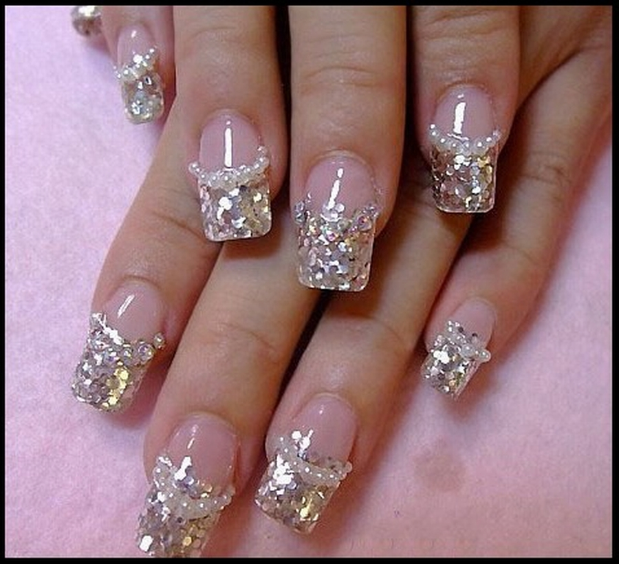 French Manicure Nail Art Ideas 5 - Inkcloth